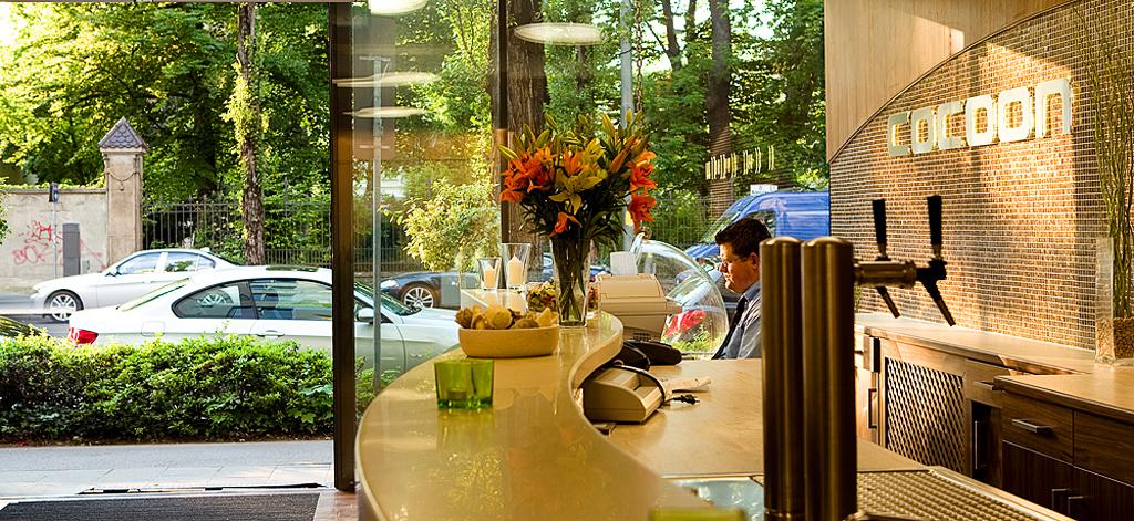 cocoon lifestyle hotel sendlinger tor bachhuber hoteleinrichtung. Black Bedroom Furniture Sets. Home Design Ideas