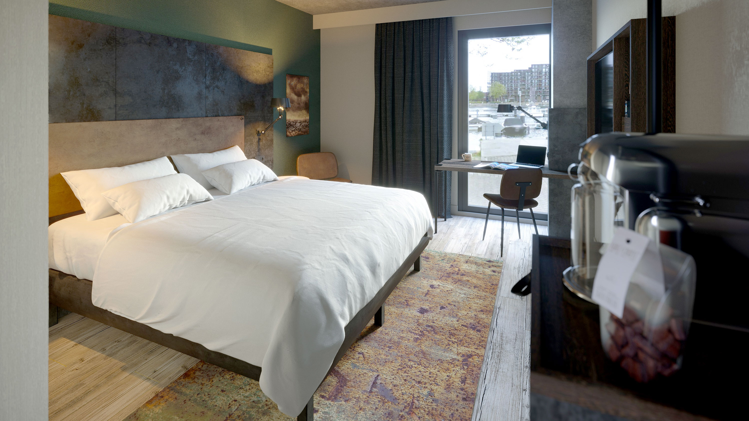 Hoteleinrichtungen Bachhuber: Amsterdam the niu Fender